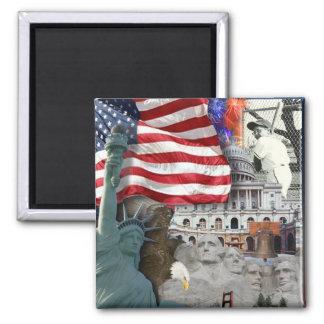 Aimant Symboles d'Américain des Etats-Unis