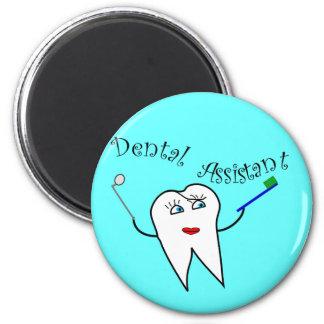 Aimant T-shirts et cadeaux d'assistant dentaire