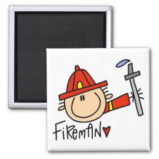 Aimant T-shirts et cadeaux de pompier