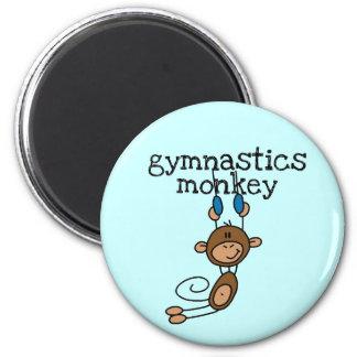 Aimant T-shirts et cadeaux de singe de gymnastique
