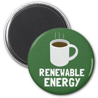 Aimant Tasse de café d'énergie renouvelable