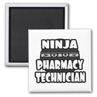 Aimant Technicien de pharmacie de Ninja