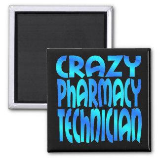 Aimant Technicien fou de pharmacie