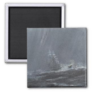 Aimant Tempête de Gneisenau en Mer du Nord 1940. 2006