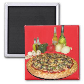 Aimant Temps de pizza