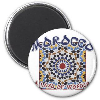 Aimant Terre du Maroc de merveille
