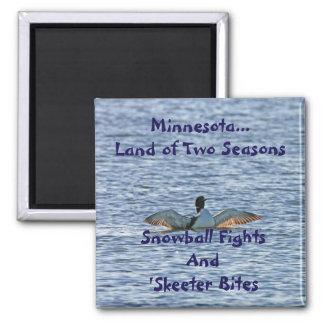 Aimant Terre du Minnesota de deux saisons