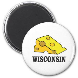 Aimant Tête de fromage du Wisconsin