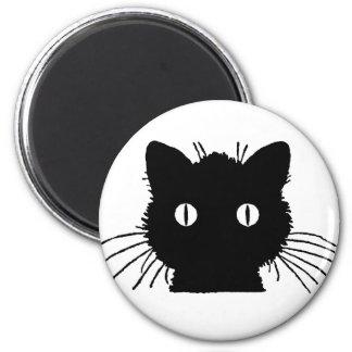 Aimant Tête mignonne de chat de Kitty