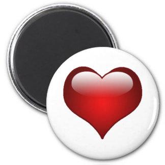 Aimant Thème d'amour de coeurs