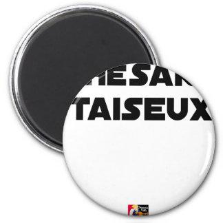 Aimant THÉSARD TAISEUX - Jeux de mots - Francois Ville