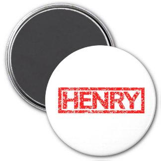 Aimant Timbre de Henry