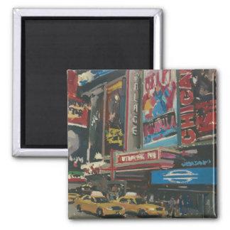 Aimant Times Square lumineux 2012 de lumières