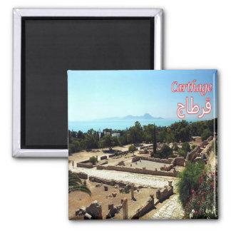 Aimant TN - La Tunisie - Carthage - ruines