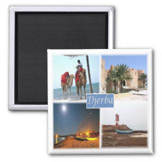 Aimant TN * La Tunisie - le Djerba