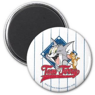Aimant Tom et Jerry | Tom et Jerry sur le diamant de