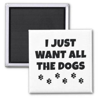 Aimant Tous les chiens
