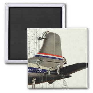Aimant Transport vintage, entretien pour des avions