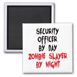Aimant Tueur de zombi d'agent de sécurité