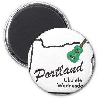 Aimant Ukulélé mercredi de Portland
