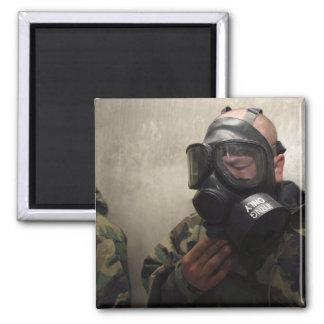 Aimant Un opérateur radio de champ dégage le gaz de CS