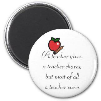 Aimant Un professeur s'inquiète
