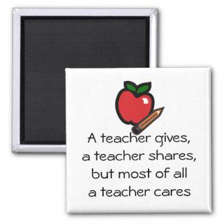 Aimant Un professeur soin-L'a customisé