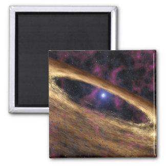 Aimant Un type d'étoile morte a appelé un pulsar