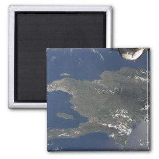 Aimant Une vue de l'île des Caraïbes de Hispaniola