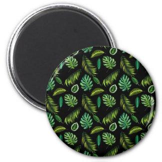 Aimant Unique original de vert de cool de forêt de paume
