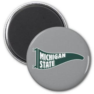 Aimant Université de l'Etat d'État du Michigan de MSU