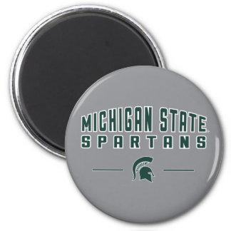 Aimant Université de l'Etat d'État du Michigan du fanion