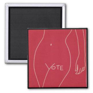 Aimant V est pour le vote