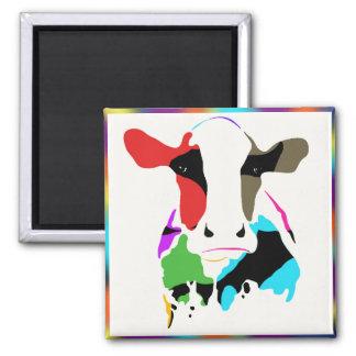Aimant Vache à arc-en-ciel