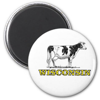 Aimant Vache laitière du Wisconsin