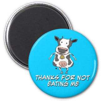 Aimant Vache reconnaissante