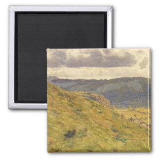 Aimant Vallée du Teme par matin ensoleillé de novembre