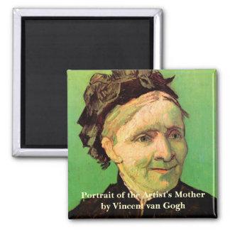 Aimant Van Gogh ; Portrait de la mère de l'artiste, art