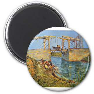 Aimant Van Gogh Vincent - le pont de Langlois
