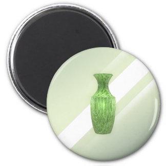 Aimant Vase vert décoratif