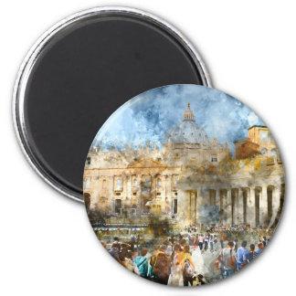 Aimant Vatican à Rome Italie