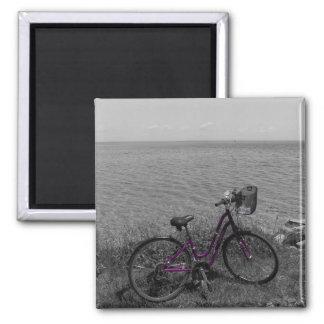 Aimant Vélo à la couleur choisie de Mackinac