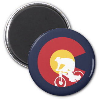 Aimant Vélo de montagne le Colorado