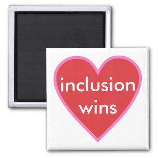 Aimant victoires d'inclusion