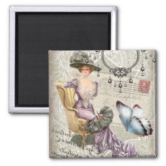 Aimant victorian girly de cru de lustre