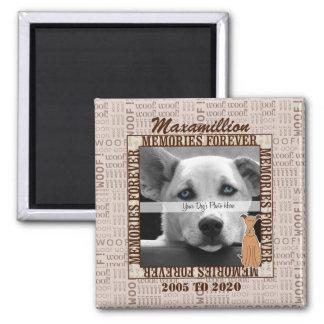 Aimant VIEILLE CONCEPTION - mémorial de photo d'animal