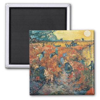 Aimant Vignobles de rouge de Vincent van Gogh   chez