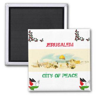 Aimant Ville de Jérusalem de P [souvenir d'aimant de