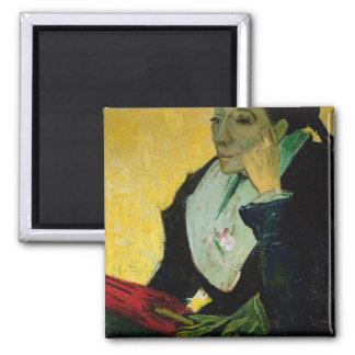 Aimant Vincent van Gogh | L'Arlesienne, détail, 1888