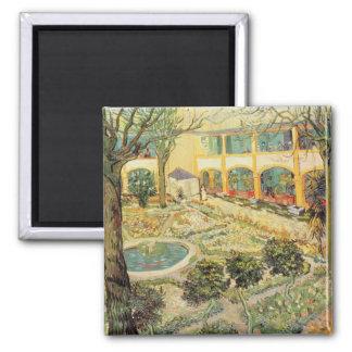 Aimant Vincent van Gogh | le jardin d'asile chez Arles